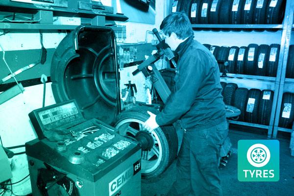 replacement tyre repair sunderland
